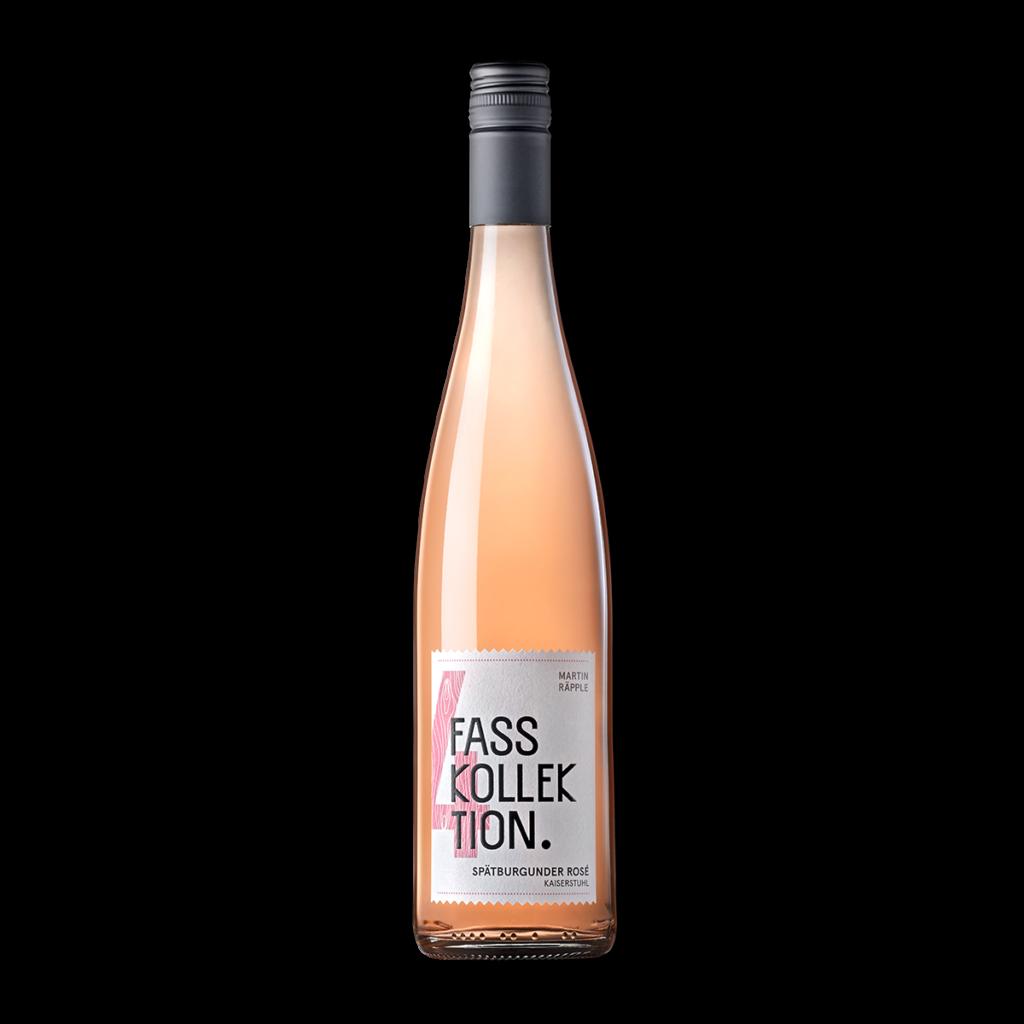 Wein Flasche Spätburgunder Rosé Fasskollektion