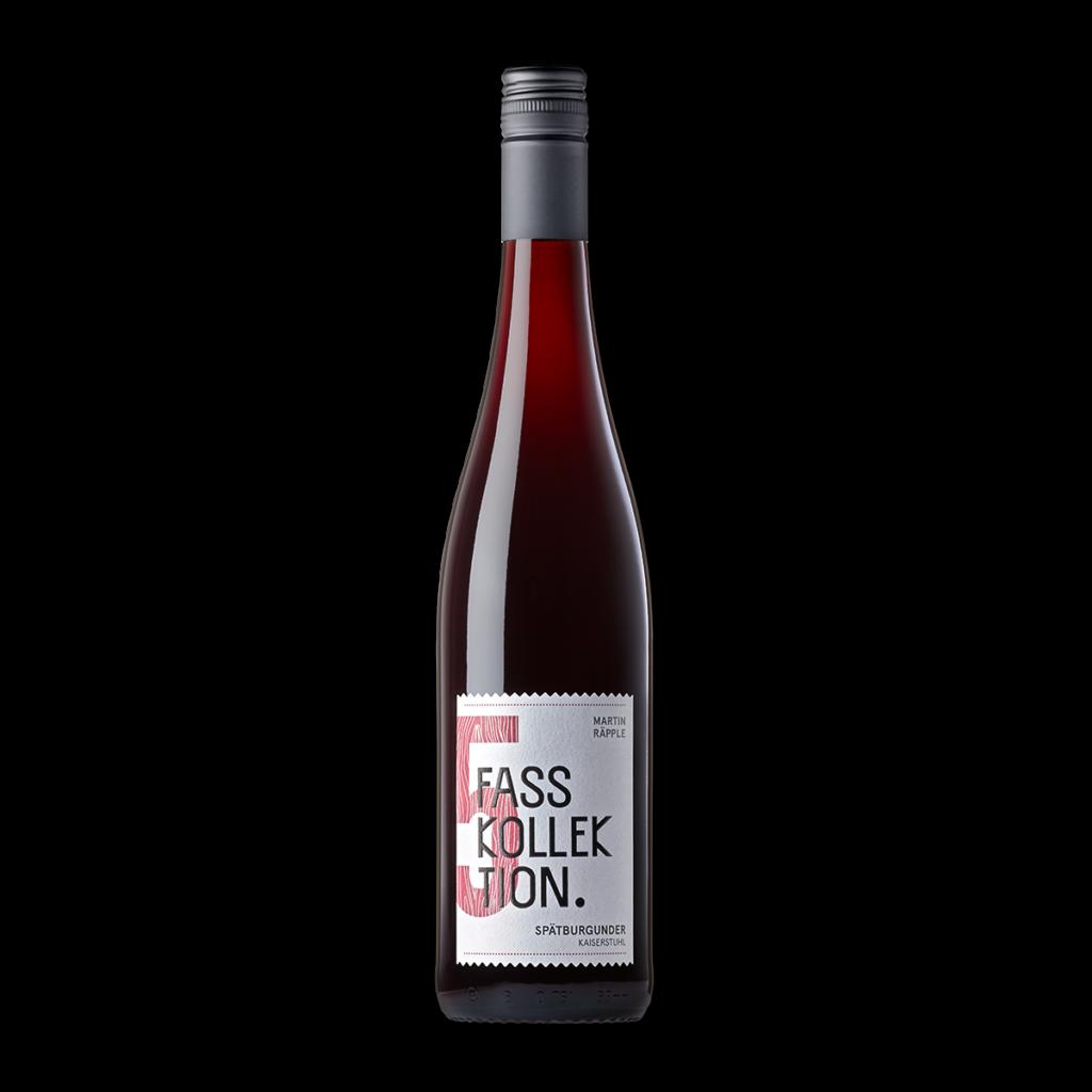 Wein Flasche Spätburgunder Fasskollektion