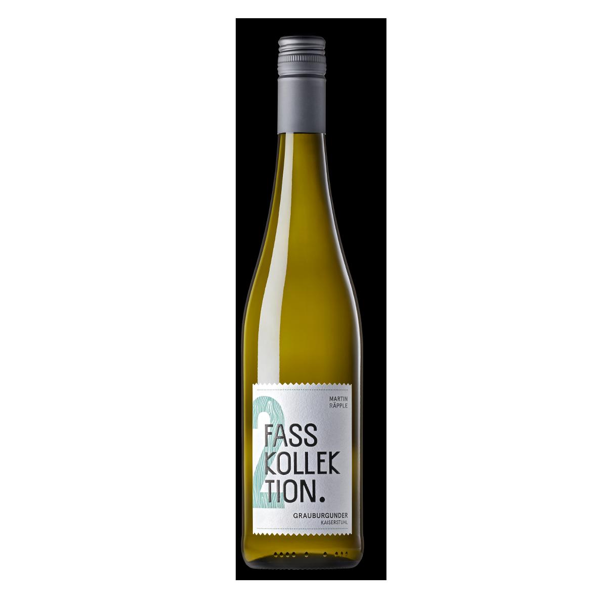 Wein Flasche Grauburgunder Fasskollektion